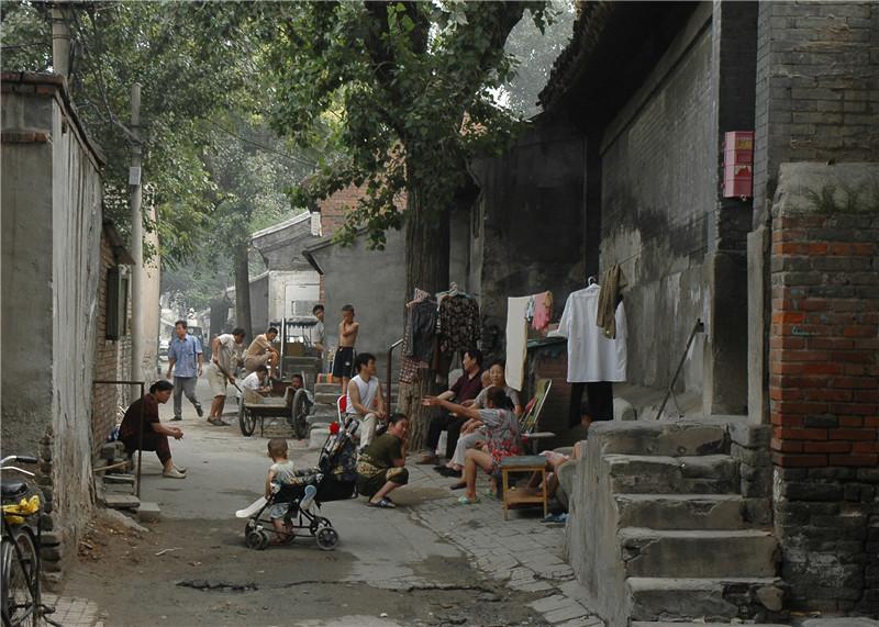 2005,夏天的北京胡同.jpg