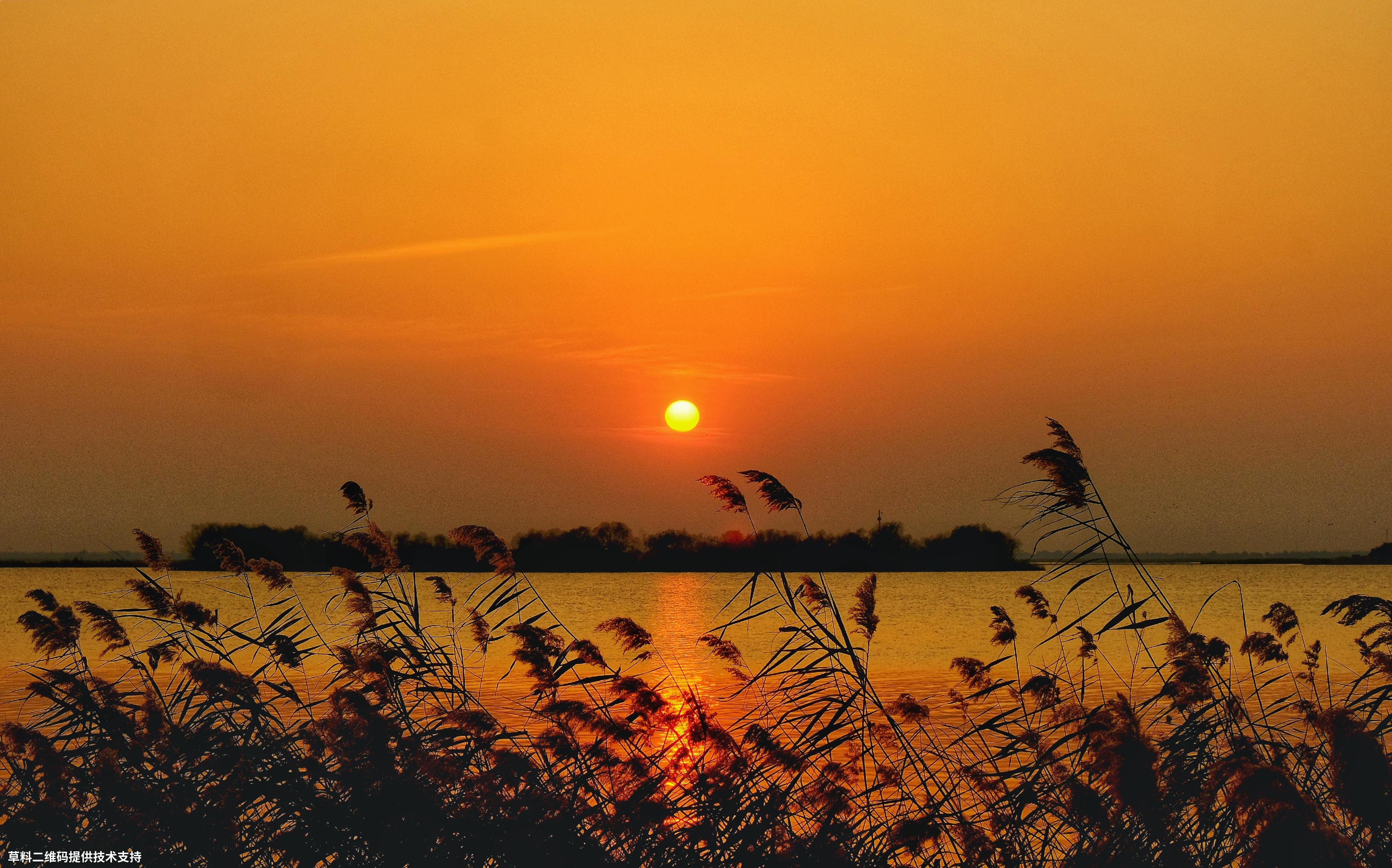 冰糖葫芦《衡水湖晚霞》未知,作品拍摄于衡水湖,当时的晚霞很美。.jpg