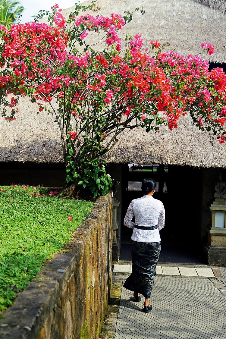 不少工作人员是居住于这个村庄的居民  F4,1/800秒,ISO150