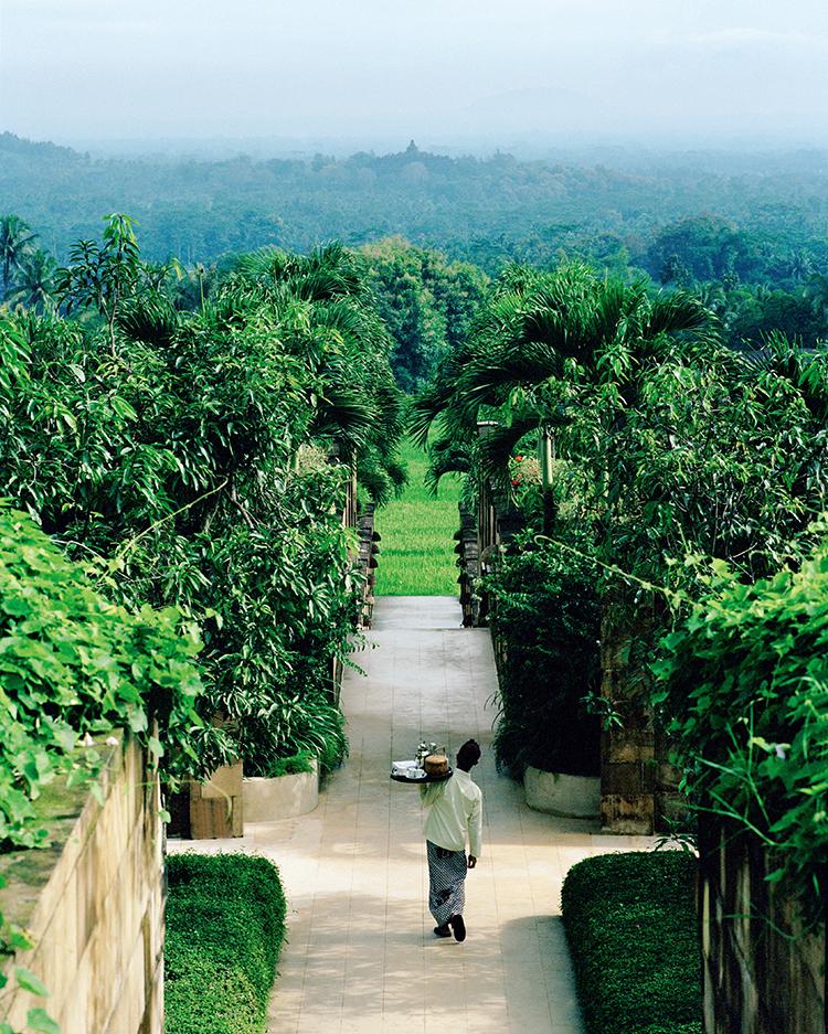 从酒店望出去便可以看到婆罗浮屠  F4,1/1600秒,ISO100