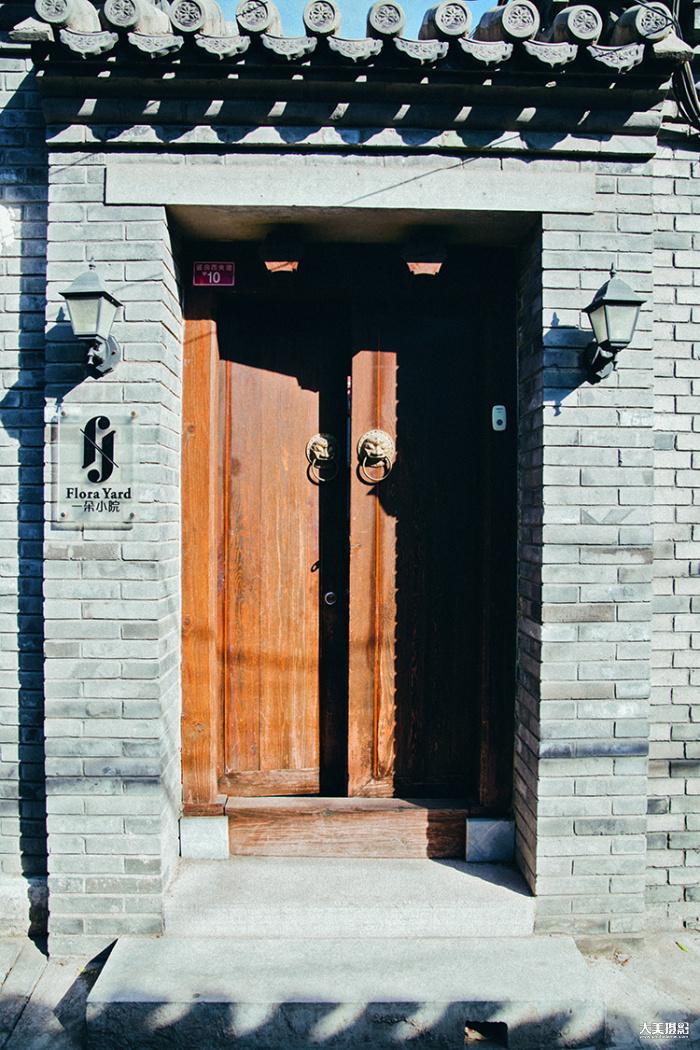 深藏在胡同的小院,敲开门就是另一个世界  F4.5,1/200秒,ISO100